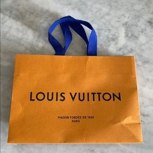Louis Vuitton shopping bag- small size